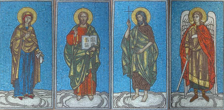 Мозаїки для церкви Іоанна Хрестителя. м. Орел Росія