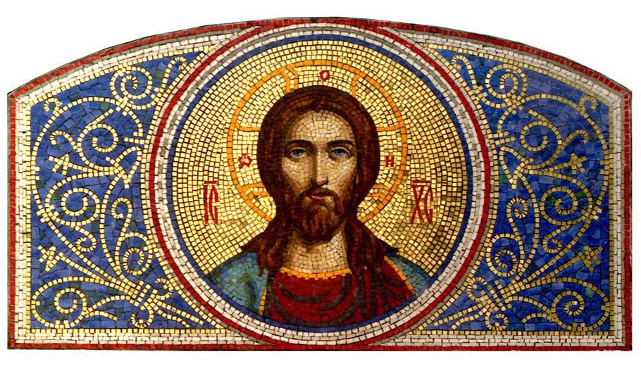 Мозаїчні панно, деісусний чин