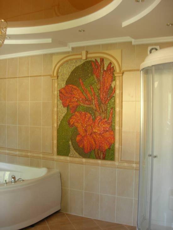 мозаїка для ванної кімнати