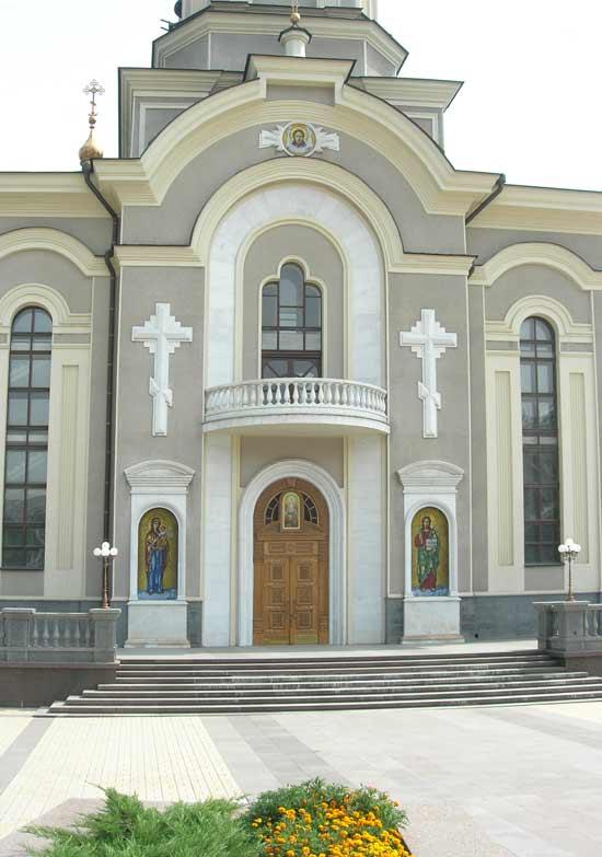 Иконы из мозаики для Свято-Преображенского храма. Донецк