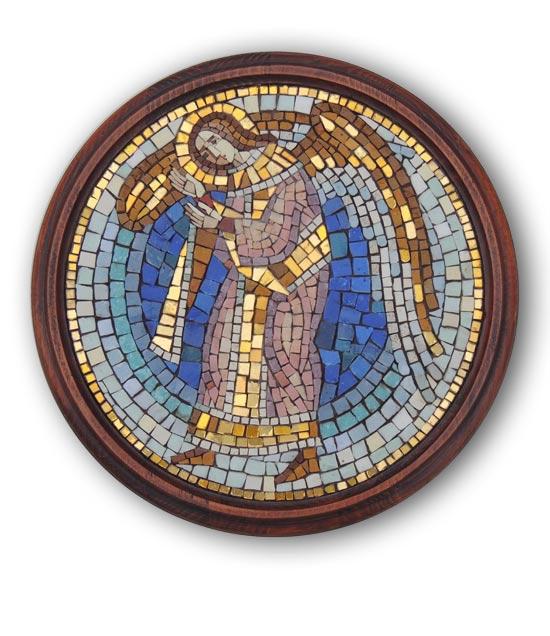 Святой Ангел Хранимтель. Икона из мозаики